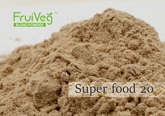 FruiVeg®  SuperFood 20 Powder sample